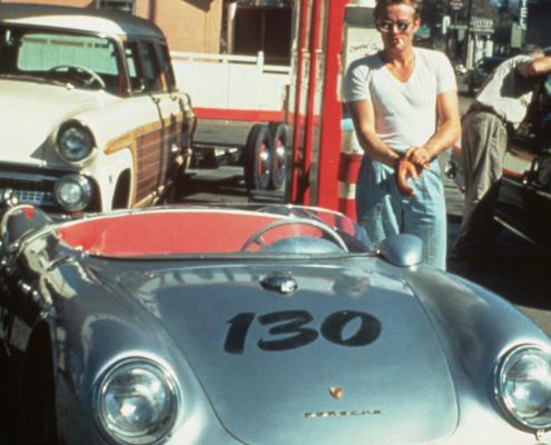 image of classic race car