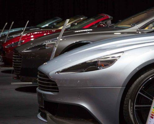 Image of luxury Aston Martin Car