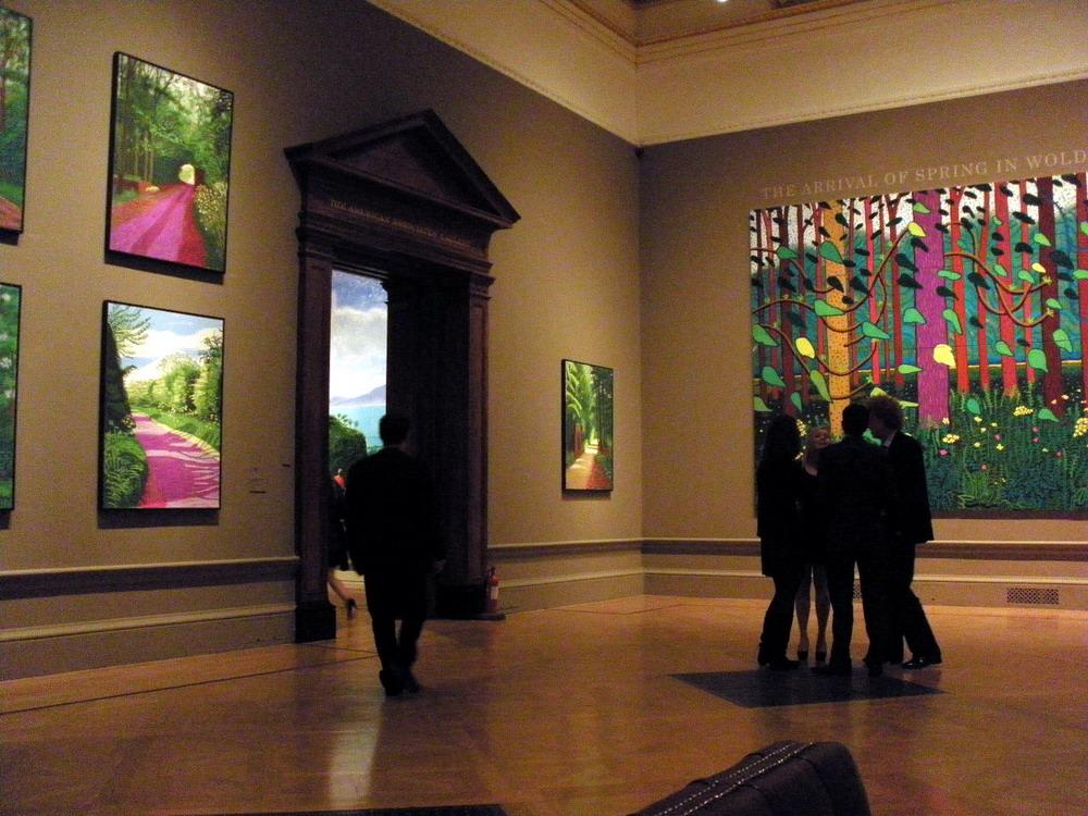 Loans against David Hockney art