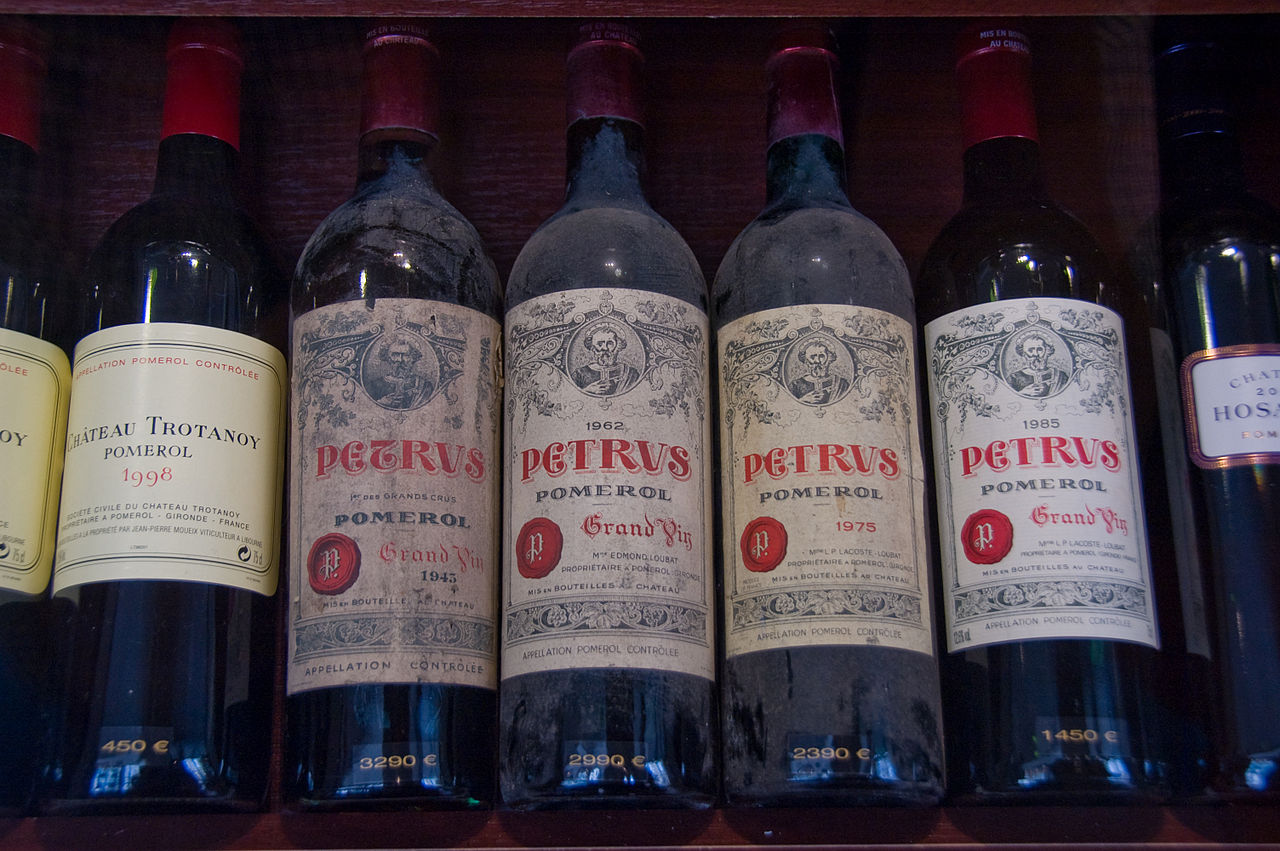 We pawn against and loan on Chateau Petrus Wine