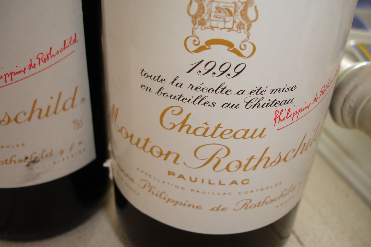 We pawn against and loan on Chateau Mouton wine